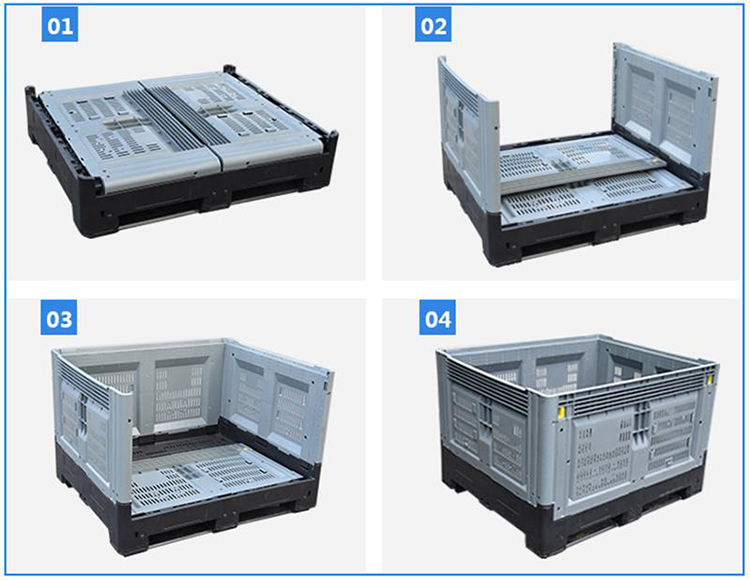 Details of Bulk collapsible containers