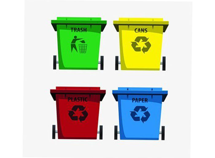 What are The Forms of Garbage Cans?