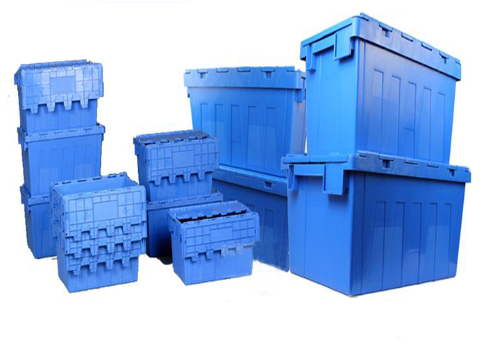 Introduction of Inclined Insert Plastic Logistics Box