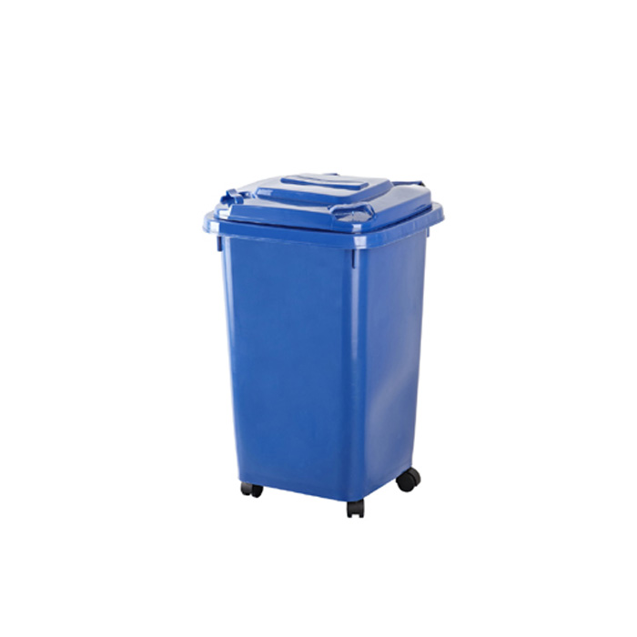 Plastic Dustbin for Outdoor with Wheels