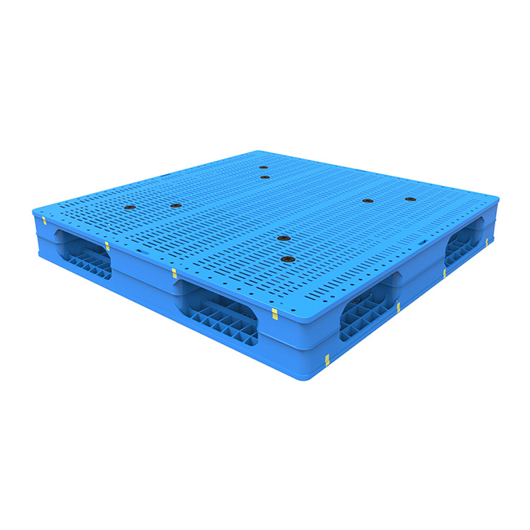 Four Way Entry Type Full Perimeter Plastic Pallet