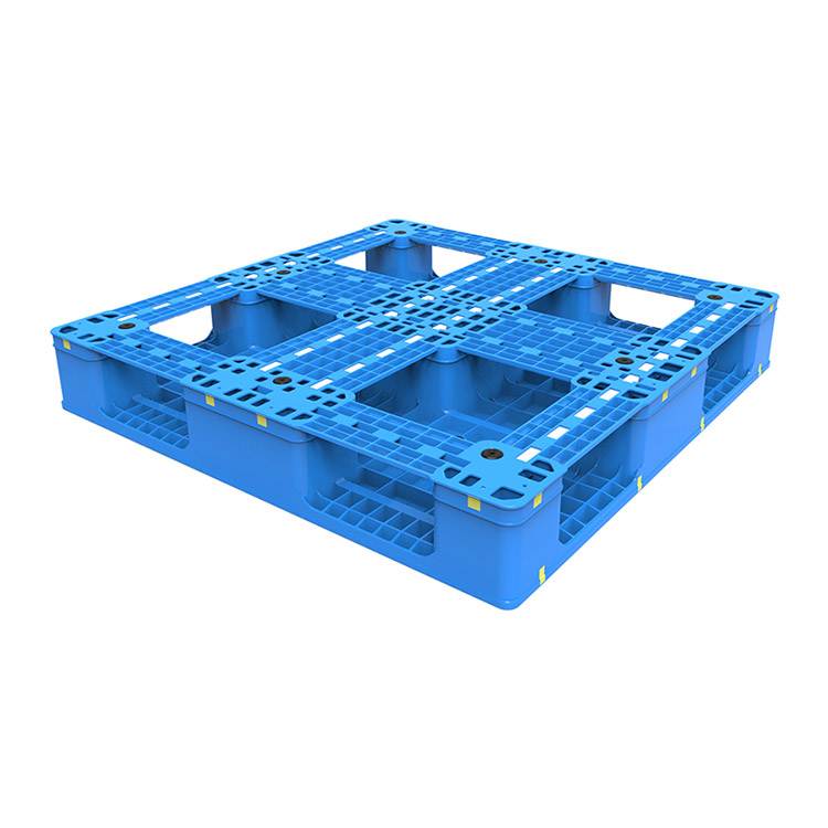 Plastic Pallet with Cruciform Perimeter Base