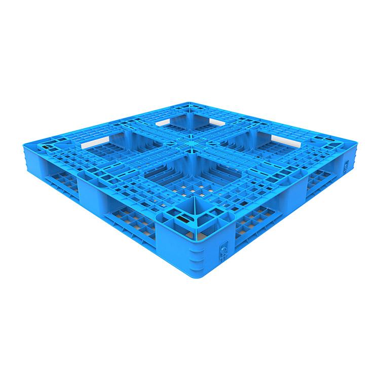 Plastic Pallet with Cruciform Perimeter Base