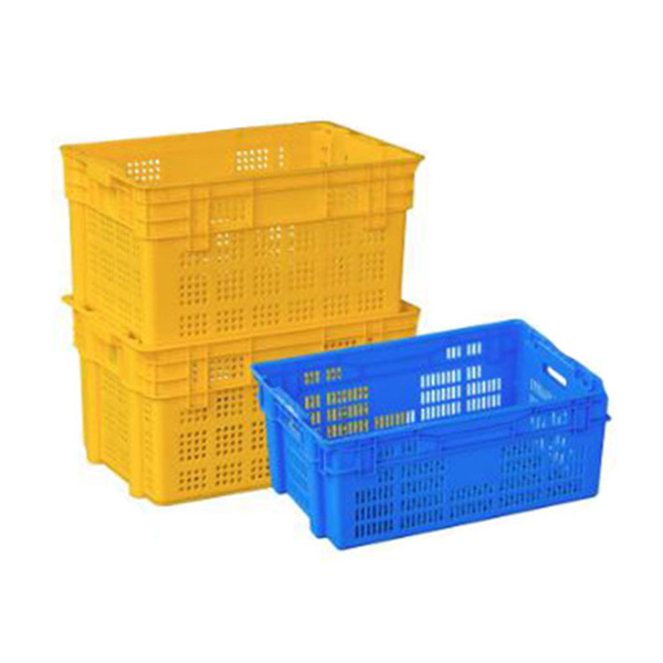 Rectangular Mesh Pilco Plastic Crates for Vegetables