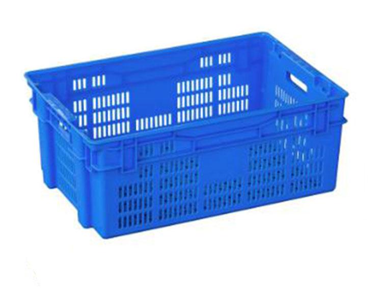 Rectangular Mesh Pilco Plastic Crates for Vegetables