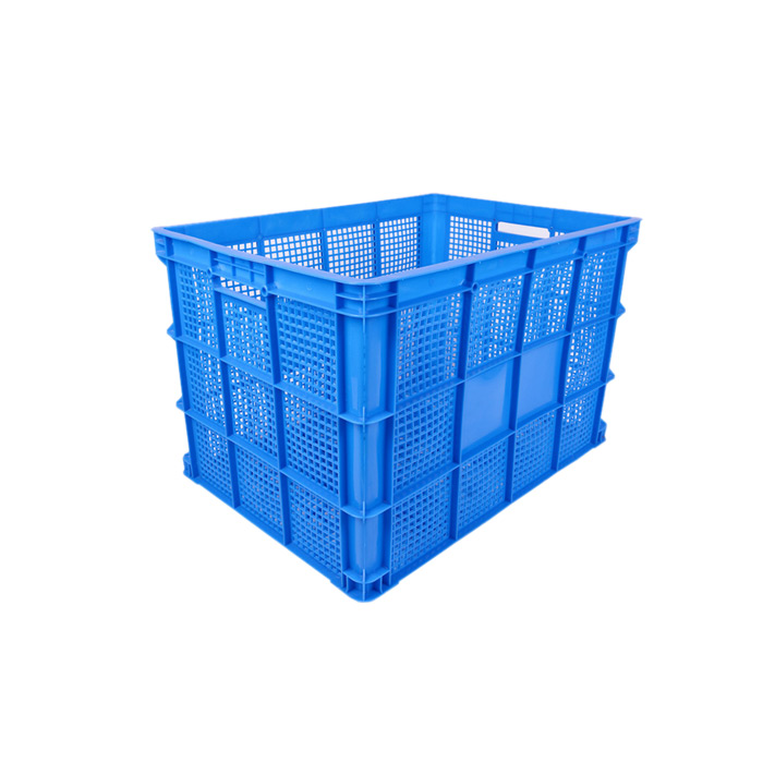 Plastic Square Industrial Blue Crates