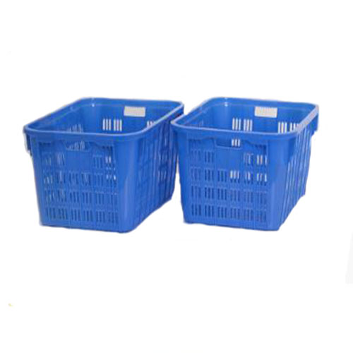 Square Stackable HDPE High Quality Plastic Crate for Transport
