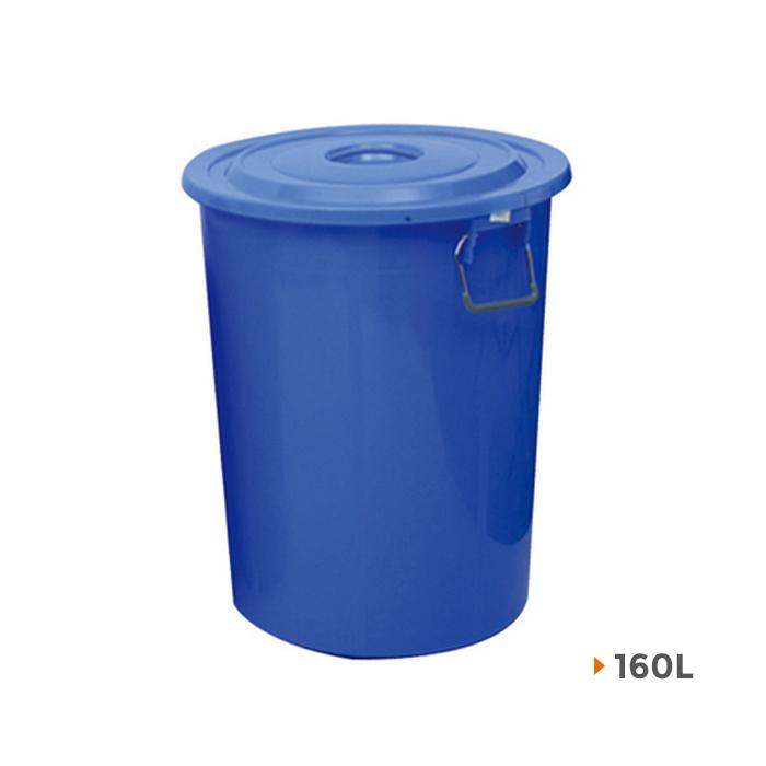 Plastic Sanitation Drum Trash Can