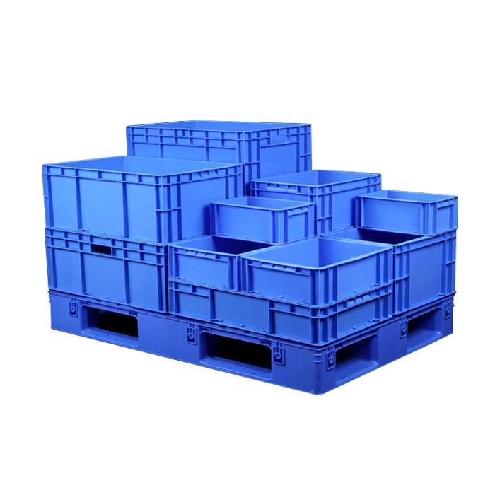 Euro Stacking Boxes Plastic Storage Bins