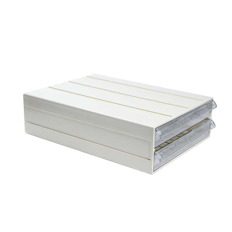 Clear Stacking Drawer Type Parts Box