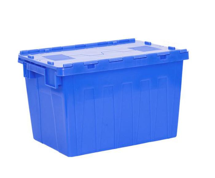 Plastic AttachedLidContainer