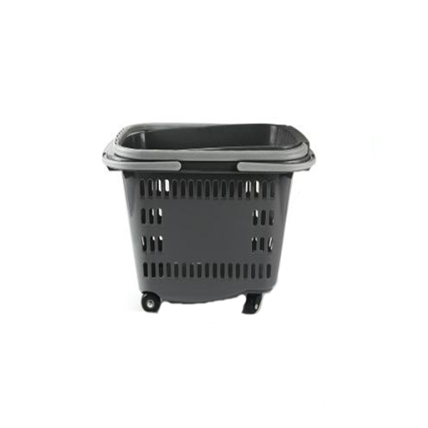 Portable Shopping Basket with Wheels