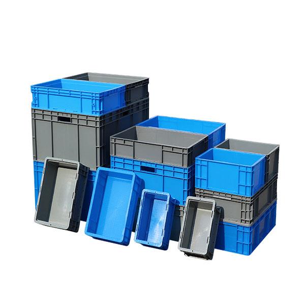 Rectangular Plastic Logistics Inclined Box