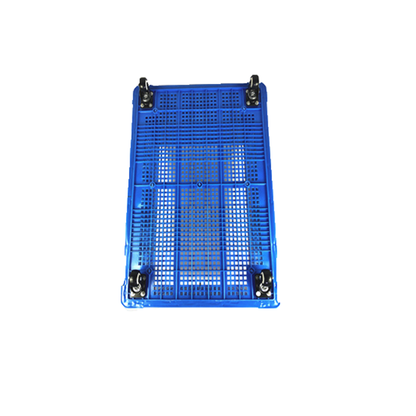 Plastic Turnover Basket with Pulley