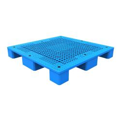 Four Way Entry Euro Light-duty Floor Stacking Plastic Pallet