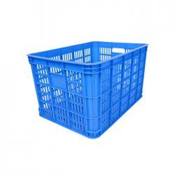 Plastic Square Industrial Blue Crates