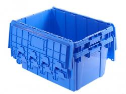 Stackable Attached lid container