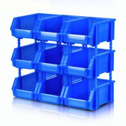 Foldable Parts Box with Various Colors