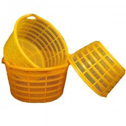 Durable Multi-color Plastic Crates
