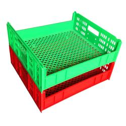 Plastic Crate for Fruit and Vegetables Bread