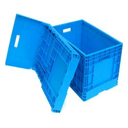 Collapsible Plastic Box Crate Foldable Box For Logistics